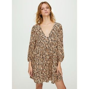 Aritzia Sunday Best Jinx Leopard Dress Size M